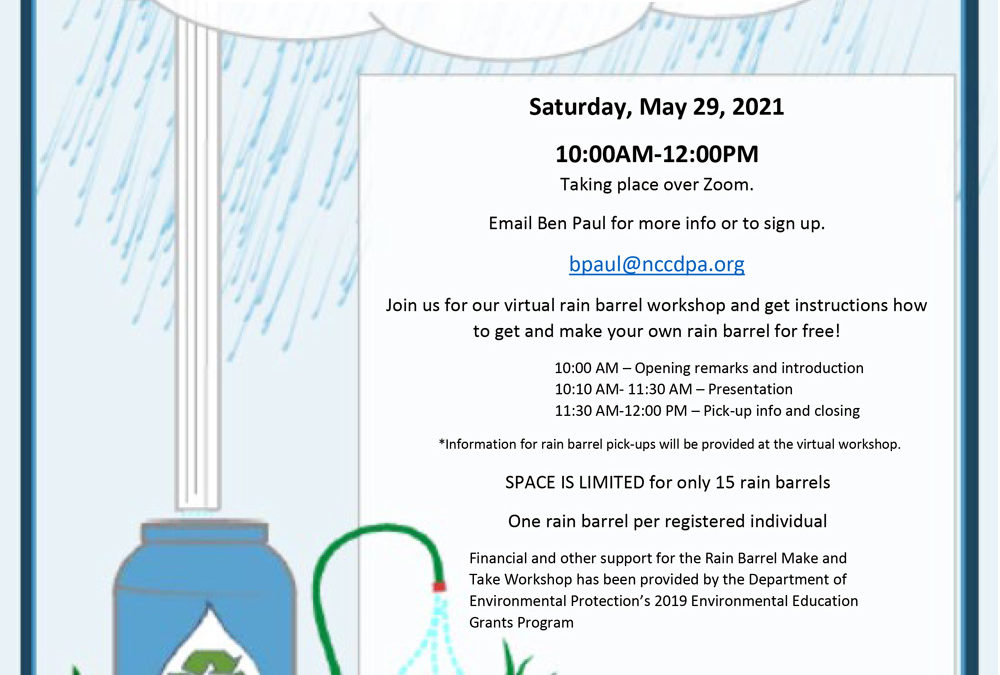 Free Virtual Make-And-Take Rain Barrel Workshop